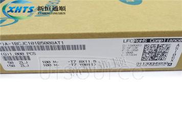 RUBYCON 50ZLJ100MT78X11.5 DIP Capacitors 50V100UF ZLJ 8X11.5