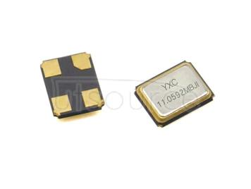 YXC YSX321SL 3.2x2.5mm 11.0592MHZ 20PF 10PPM X3225110592MSB4SI