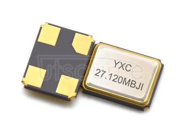 YXC YSX321SL 3.2x2.5mm 27.12MHZ 10PF 10PPM X32252712MMB4SI