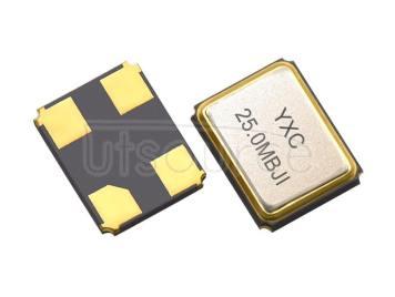 YXC YSX321SL 3.2x2.5mm 25MHZ 10PF 10PPM X322525MMB4SI