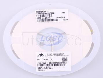 Ever Ohms Tech CR0603F2K55P05Z(100pcs)