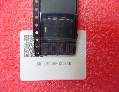 L6208PD013TR DMOS driver for bipolar stepper motor