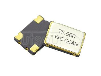 YSO751SR 75MHZ 3.3V 20PPM O705075MEDA4SI