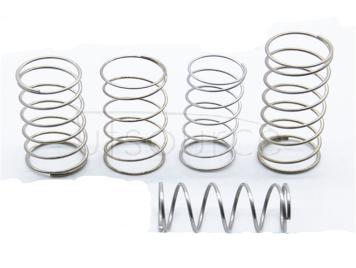 Wire diameter 0.6MMX6MMX25MM spring steel/stainless steel small spring pressure return compression spring <20PCS>