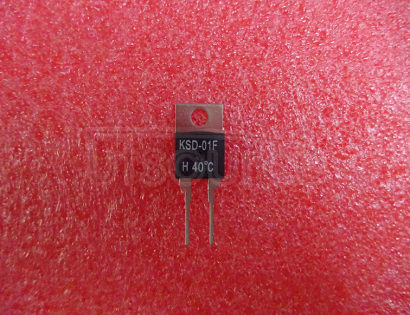 KSD-01F H40 Normal Open Temperature Control Switch 220V1.5A Temperature to 40 degrees Automatic Turn