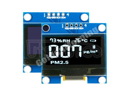 White Mono Color 1.3 Inch I2C 4Pin CH1116G OLED Display Module 1.3 inch white CH1116G driver IC,I2C interface,4pin (CH1116G is compatible fully with SH1106)