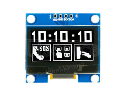 White Mono Color 1.3 Inch I2C 4Pin CH1116G OLED Display Module