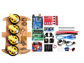 Smart Car Kit 4/2WD/ Tracking Car /DIY Kit/UNO Development Board/Car Chassis/Programming