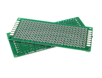 Double-sided spray tin 3*7cm 1.6mm fiberboard PCB board test board 2.54mm hole board Product name: 1.6mm double panel  Big small: 3 x7cm  Base material: glass fiber  Hole diameter: 1.0mm (mm). Error of 5%)  Pitch between holes: 2.54mm (100mil) (mm)  Thickness: 1.6mm (mm)  Gross weight: 6.5 grams