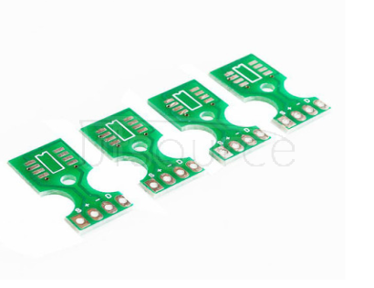 Temperature and humidity sensor interface plate bottom plate PCB board SHT10 SHT11 SHT15 B board This board is an empty PCB board for use with SHT10, SHT11, SHT15. It is very useful when the sensor needs to be independent of the motherboard  The spacing of stitches is 2.54mm   SHT10 SHT11 SHT15 bottom plate interface pin welding humidity, temperature and humidity sensor