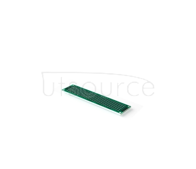 Double-sided tin plating thickness 1.6 high quality glass fiber board tinjet test board PCB 2.54 spacing hole board 2*8 Double-sided tin plating thickness 1.6 high quality glass fiber board tinjet test board PCB 2.54 spacing hole board 2*8