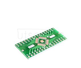 QFP32 DIP32 TQFP LQFP EQFP adapter plate 0.8mm pin spacing decoupling filter QFP32 DIP32 TQFP LQFP EQFP adapter plate 0.8mm pin spacing decoupling filter