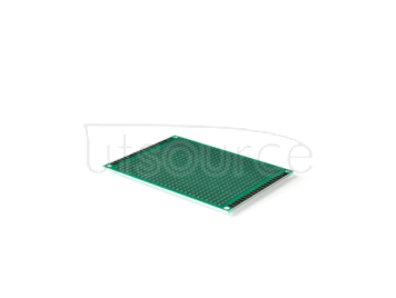 Double-sided tin plating thickness 1.6 high quality glass fiber board tinjet test board PCB 2.54 spacing hole board 7*9