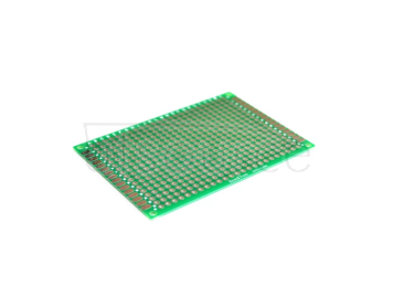 Green 5*7 double-sided tinned 5x7cm thickness 1.6 high quality fiberglass board tinned test board