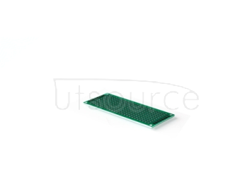 Double-sided tin plating thickness 1.6 high quality glass fiber board tinjet test board PCB 2.54 spacing hole board 3*7