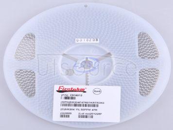 Firstohm(First Resistor & Condenser) SM204F47R0TKRTR3K0(50pcs)