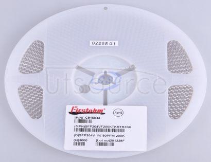 Firstohm(First Resistor & Condenser) SFP204VF200KTKRTR3K0(20pcs)