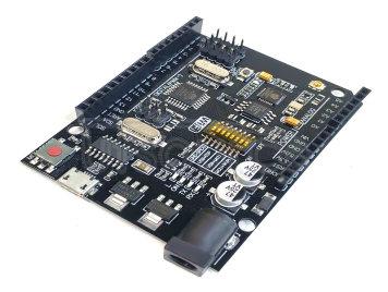 WiFi R3 ATmega328P+ESP8266 (32Mb),USB-TTL UNO