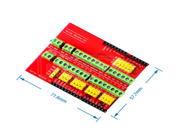 Screw Shield V3 terminal extension board interactive media compatible with UNO R3