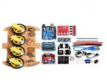 Smart Car Kit 4/2WD/ Tracking Car /DIY Kit/UNO Development Board/Car Chassis/Programming 4-Wheel Kit