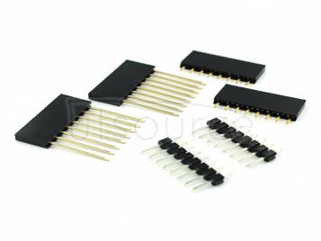 Mini D1 needle rack 8P long foot + 8P short foot + 8P needle rack bag