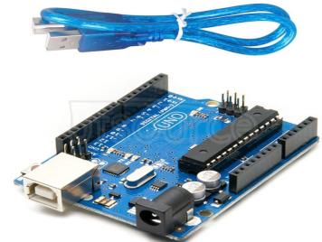 Uno R3 development board official version ATmega16U2 USB cable 1