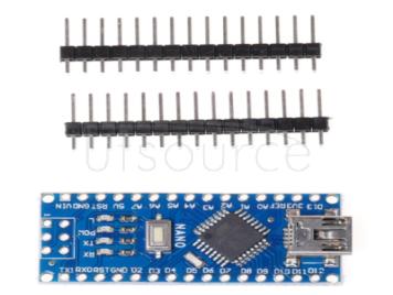 Nano solderless wireless V3.0 ATMEGA328P CH340G improved electronic building block interactive media