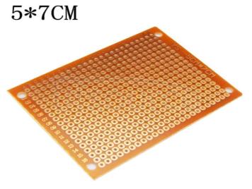 5*7CM universal board bakelite HB rubber circuit board PCB board test board circuit board hole board universal board