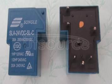 SLA-24VDC-SL-C 24V 30A 6PINS