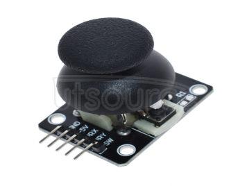 Dual axis button rocker sensor PS2 game rocker joystick sensor module electronic building block module