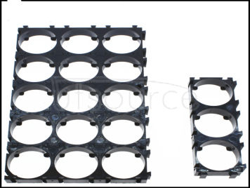 3 unit 18650 battery combination bracket with bayonet can be spliced combination (20PCS)