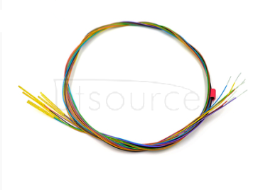 R50-2w7 (0#) Probe sleeve with wire Test needle sleeve 0.9 Needle holder with wire set of 8
