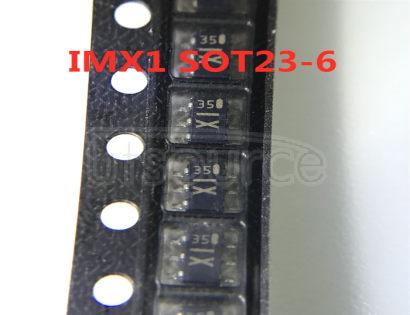 IMX1 General purpose transistors dual transistors