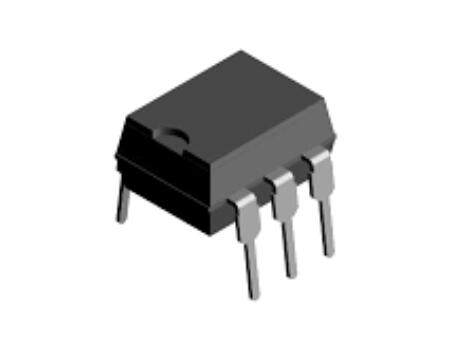 MOC3081 OPTICALLY COUPLED BILATERAL SWITCH LIGHT ACTIVATED ZERO VOLTAGE CROSSING TRIAC