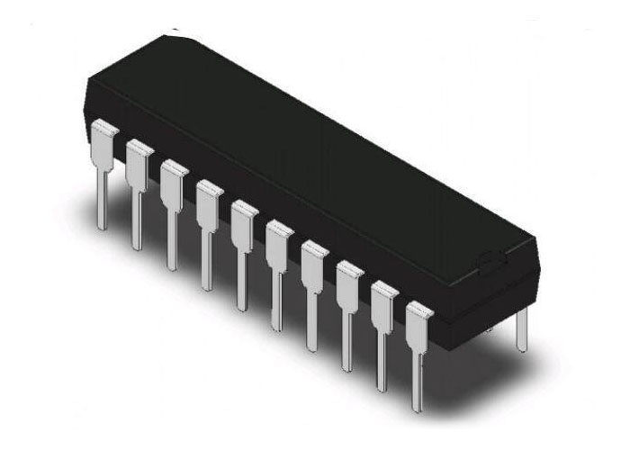 ATF22LV10C-10PC IC PLD 10MC 10NS 24DIP
