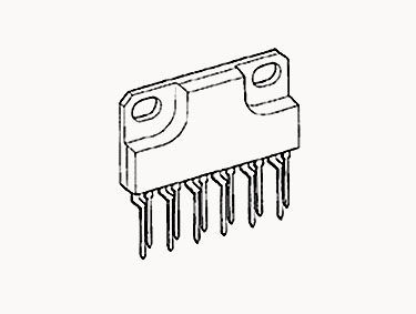 SLA4061 NPN   Darlington   With   built-in   flywheel   diode